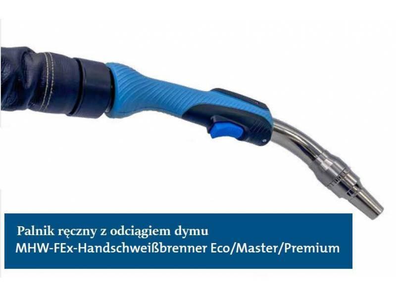 Palnik do spawania ręcznego QINEO MHW-FEx