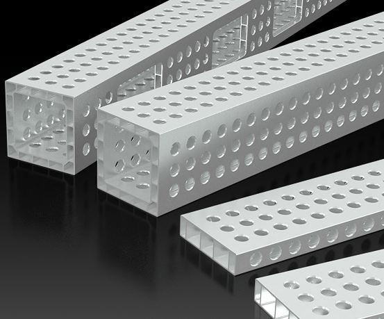 Aluminiowe bloki mocujące