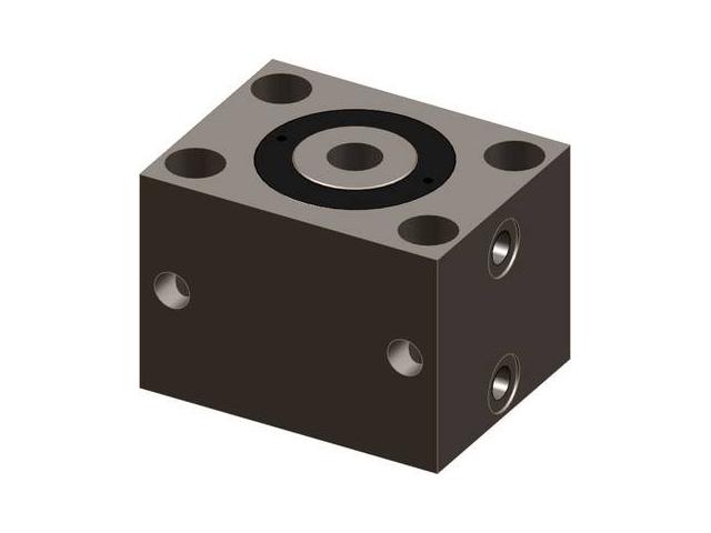 Blokowe cylindry hydrauliczne serii 723 (z otworem)
