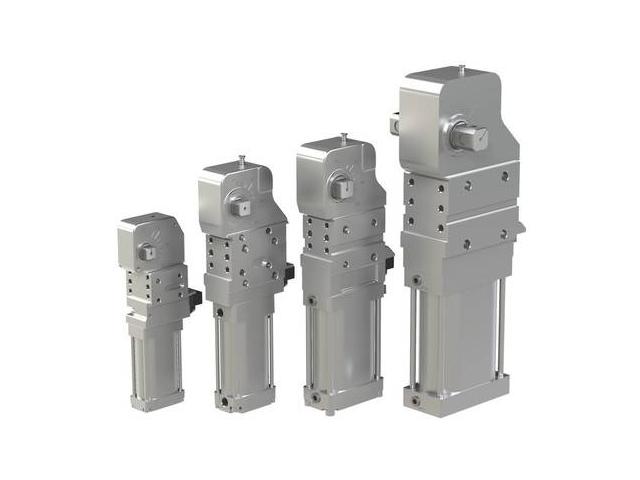 Zaciski pneumatyczne serii 82M-3E