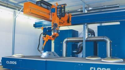 Robot do cięcia plazmowego znacznie skraca czas produkcji
