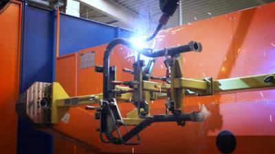 Robot QIROX zapewnia optymalną jakość spawania w Orion Bausysteme